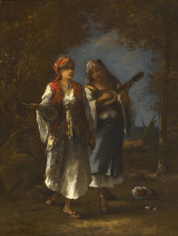 Léon RICHET - Painting - Les Femmes Orientalistes