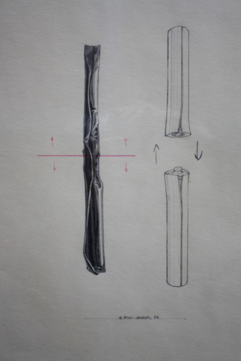 Gérard TITUS-CARMEL - Zeichnung Aquarell - Sans titre