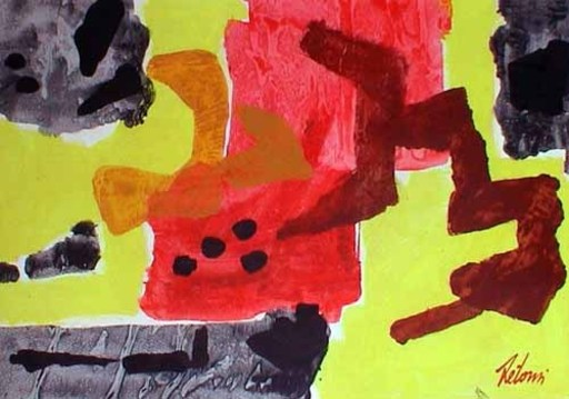 Enrico DE TOMI - Painting - Senza  titolo 4