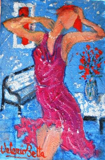 Valerio BETTA - Peinture - Dance of model _ Modella che danza
