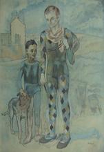 Pablo PICASSO (1881-1973) - Acrobats | Les Saltimbanques