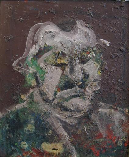 Bernard DAMIANO - Painting - Autoritratto