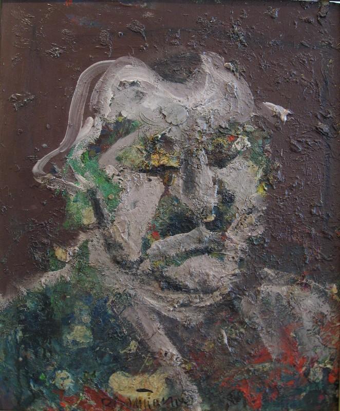 Bernard DAMIANO - Peinture - Autoritratto