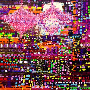 Fabio BIANCO - Peinture - Aboriginal Light