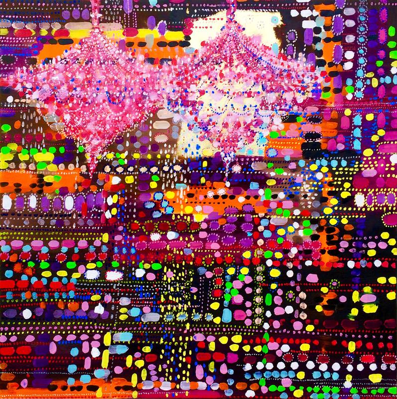 Fabio BIANCO - Pintura - Aboriginal Light