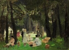 Alessio ISSUPOFF (1889-1957) - Picnic