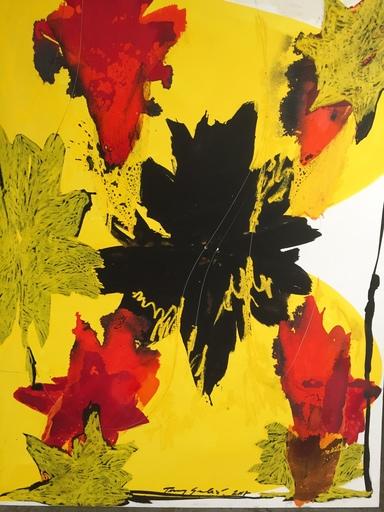 Tony SOULIÉ - Pittura - Dreamed Flower IV