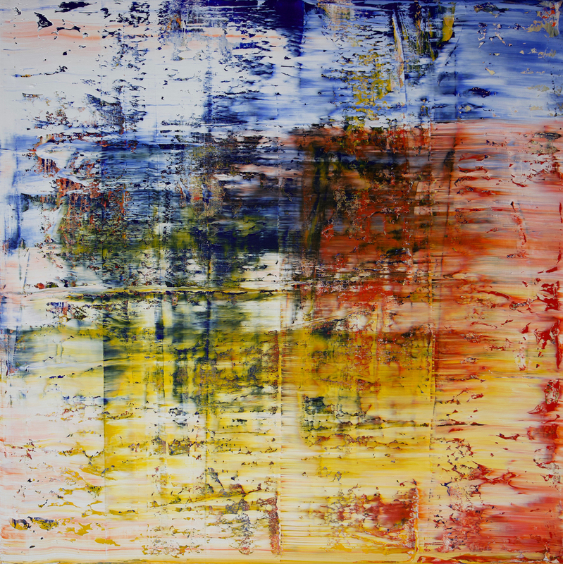 Harry James MOODY - Painting - abstract No.420