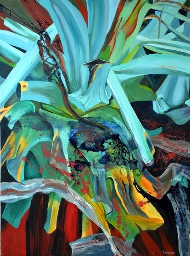Peny MANAVI - Gemälde - Cactus 13