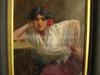 Ulpiano CHECA Y SANZ - Peinture - Colmenar - cantaora -  flamenco - Gitana -
