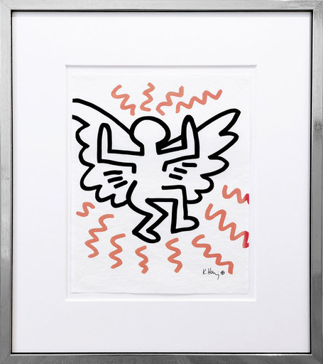 Keith HARING - Estampe-Multiple - Angel