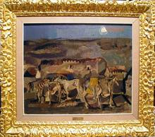 Agustín REDONDELA - Pintura - Paisaje rural