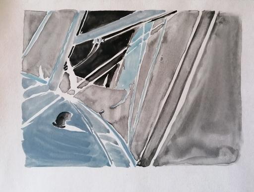 Diana KIROVA - Zeichnung Aquarell - CBG03