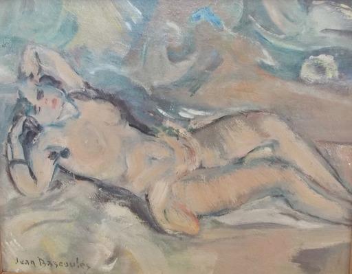 Jean-Désiré BASCOULES - Peinture - nu orientaliste