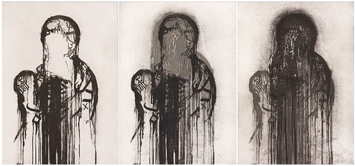 Jaume PLENSA - Druckgrafik-Multiple - Untitled (Triptych)