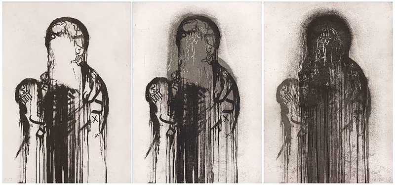 Jaume PLENSA - Stampa-Multiplo - Untitled (Triptych)
