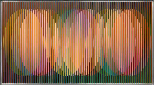 Carlos CRUZ-DIEZ - Pittura - Physichromie Panam 232