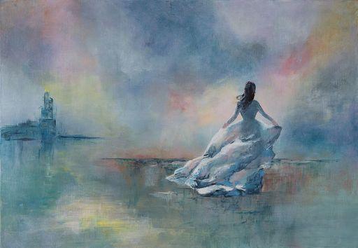 Françoise DUGOURD CAPUT - Painting - Thétis