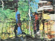 Susanne SCHOLZ - Pintura - Reflexion 35 Shopping