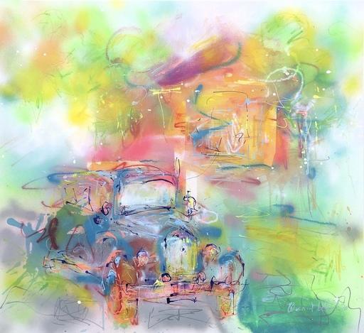 Nicole LEIDENFROST - Gemälde - Oldtimer Feeling