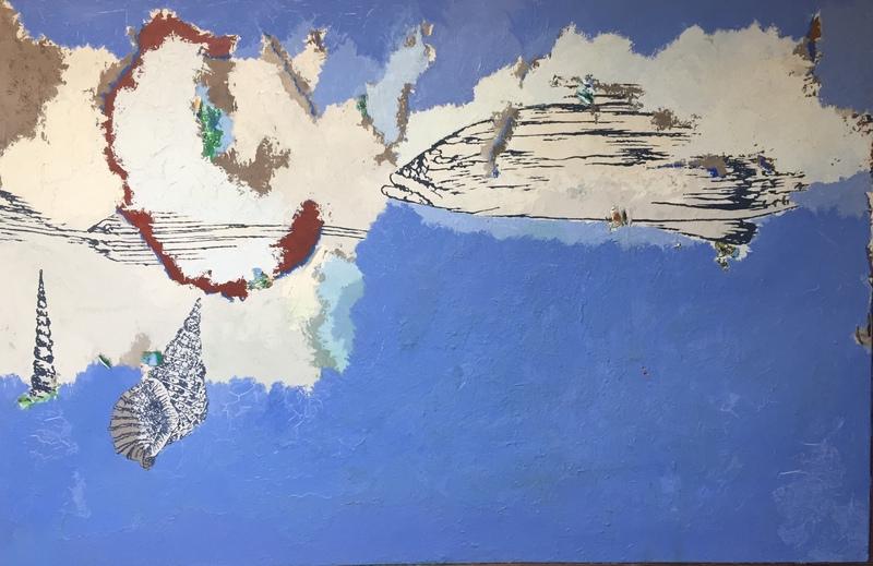 Maurice MAUBERT - Peinture - Fish and shellfish