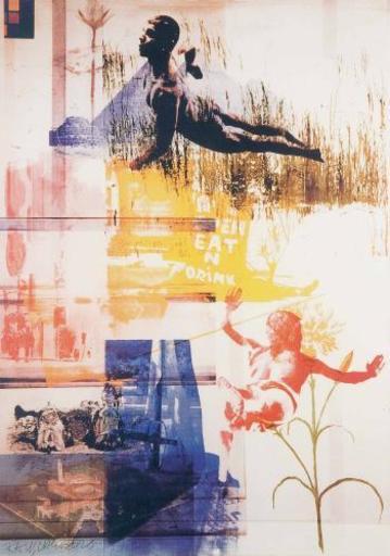 James ROSENQUIST - Print-Multiple - Isola di San Lazzaro, Venezia