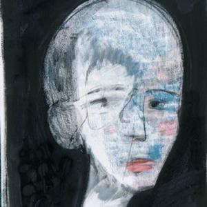 Zvi MILSHTEIN - Painting - Le colagène