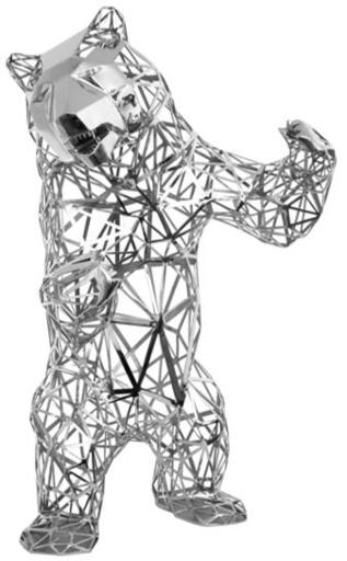 Richard ORLINSKI - Sculpture-Volume -   WILD BEAR INOX