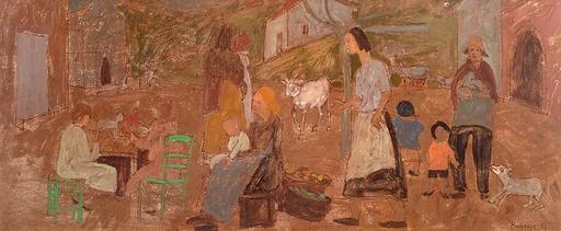 Grégoire MICHONZE - Pintura - Composition