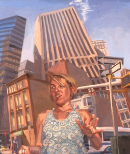 Benjamin DUKE - Peinture - Shifting Ground