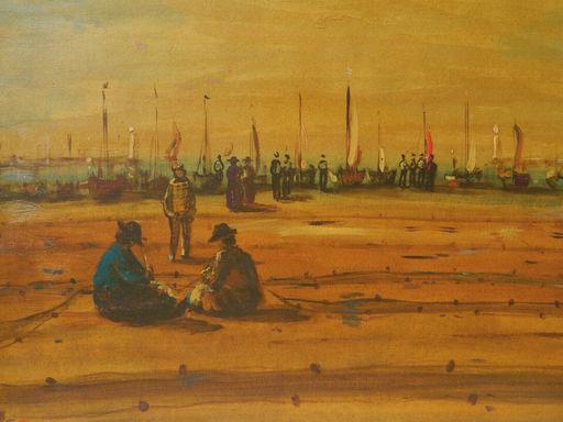 Sylvain VIGNY - Pintura - PAYSAGE - LANDSCAPE - PLAGE