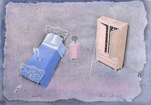 Claudio CARGIOLLI - Pintura - Stanza delle stelle
