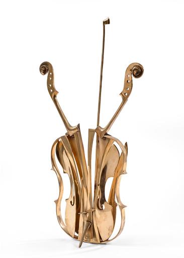 阿尔曼 - 雕塑 -  Violon Venise