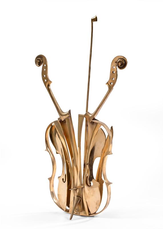 Fernandez ARMAN - Sculpture-Volume -  Violon Venise