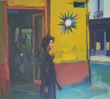 Nicola SIMBARI - Pintura - Rue de Seine