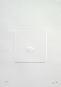 Turi SIMETI - Estampe-Multiple - Il silenzio dello spazio