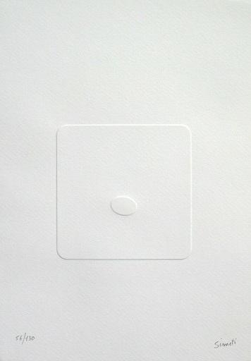 Turi SIMETI - Druckgrafik-Multiple - Il silenzio dello spazio