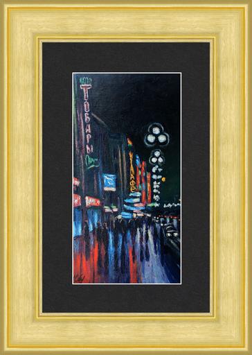 Valeriy NESTEROV - Pintura - St. Petersburg (Leningrad) Nevskiy Prospect