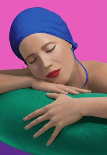 Carole FEUERMAN - Stampa Multiplo - Serena with blue cap