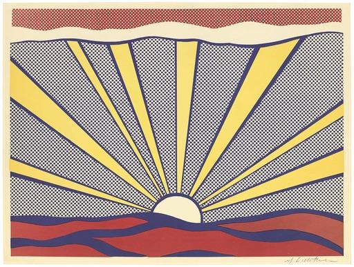 Roy LICHTENSTEIN - Druckgrafik-Multiple - Sunrise
