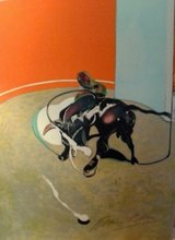 Francis BACON (1909-1992) - Study version of study for bullfight nº1