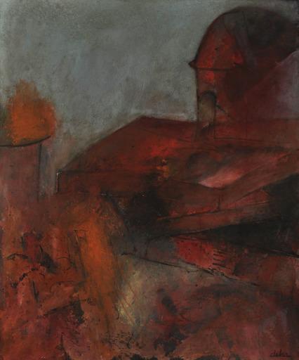 Réjane DE TASSIGNY - Painting - Roussillon