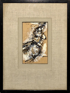John Harrison LEVEE - Drawing-Watercolor - Abstract