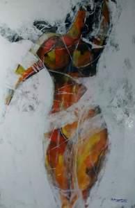 R.U. SUBAGIO - Pittura - Female figure