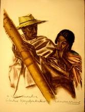 Alexander Evgenevich IACOVLEFF - Print-Multiple - Dessins Et Peintures D'afrique