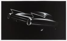 罗伯特•隆戈 - 版画 - Cadillac