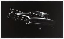 Robert LONGO - Stampa Multiplo - Cadillac