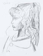 巴勃罗•毕加索 - 版画 - Sylvette