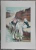 Maurice ROMBERG DE VAUCORBEIL - Print-Multiple - Cavalier arabe assis au bord d'une rivière