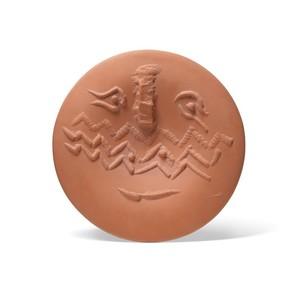 Pablo PICASSO - Ceramic - Visage lunaire